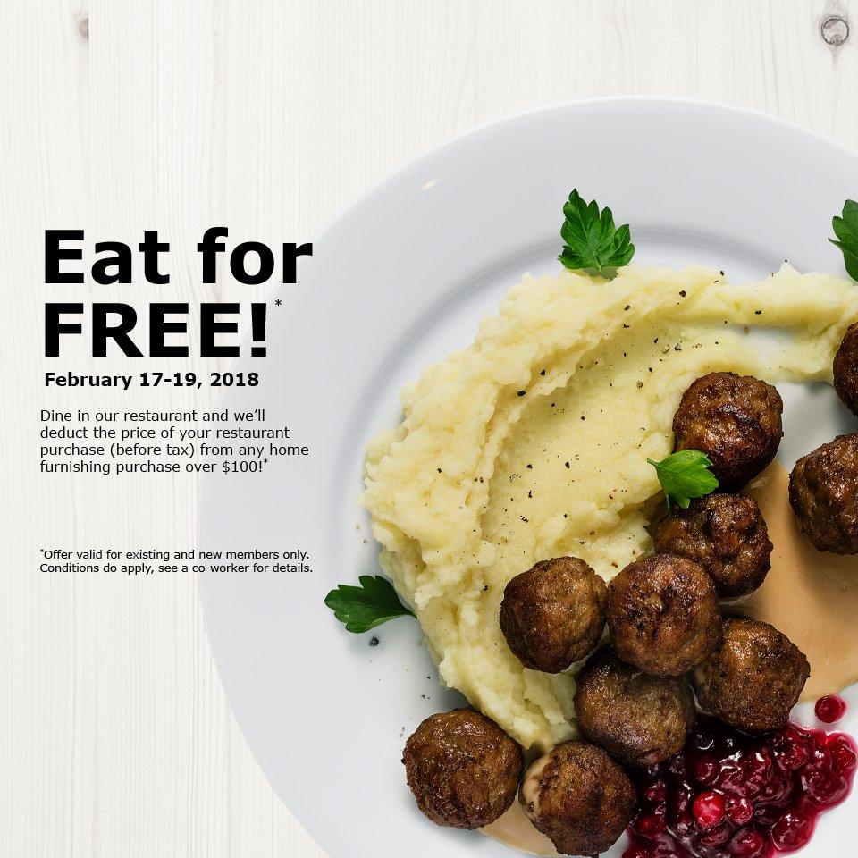 IKEA Restaurant opening hours